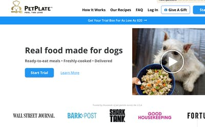 Pet Plate  				Dog Food