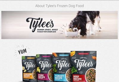 Tylee's Dog Food